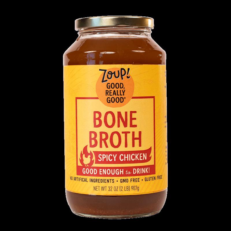 Spicy Chicken Bone Broth