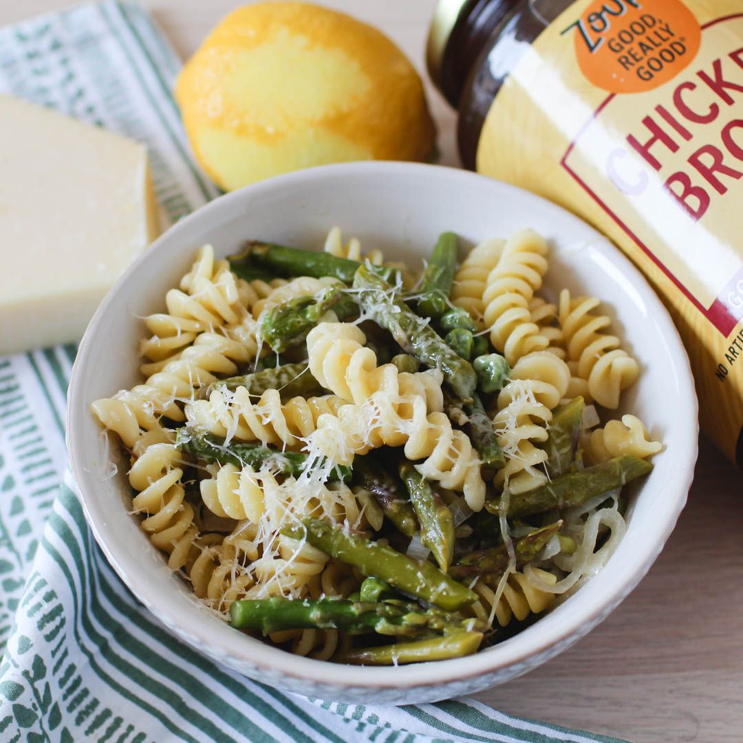 One Pot Asparagus Pasta